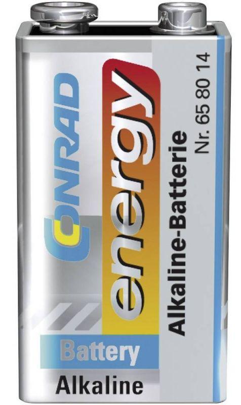 Baterie 9V Conrad energy