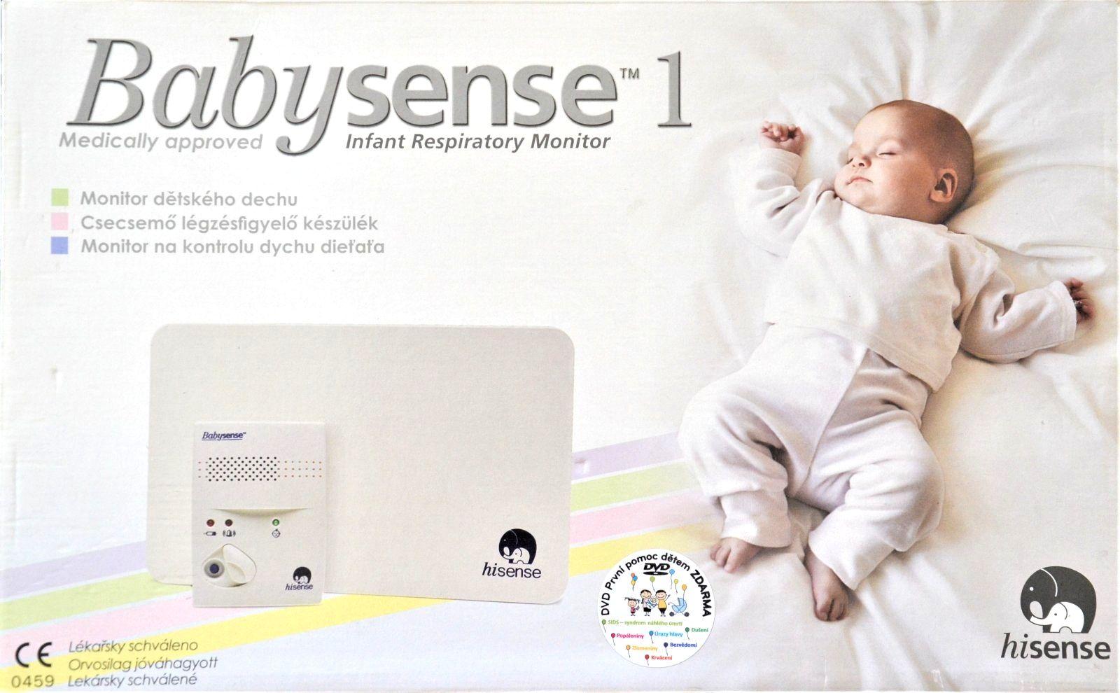Hisense Monitor dechu Babysense I bílá