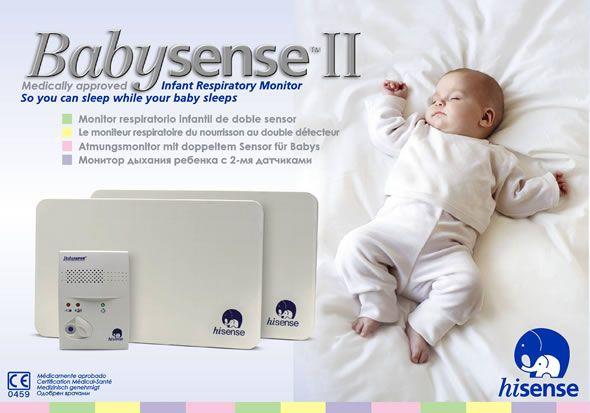 Hisense Monitor dechu Babysense ll bílá